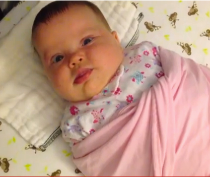 How To Swaddle & Calm Your Baby